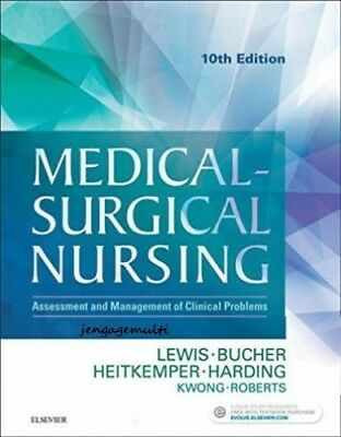 Medical-Surgical Nursing 10th ed by Lewis TEST BANK.  NOT PHYSICAL BOOK