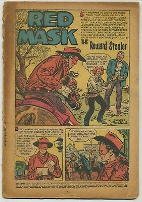 Red Mask 53 Coverless Golden Age