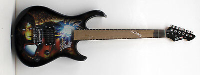Stan Lee Signed Autographed Peavey Marvel Rockmaster Guitar Psa/dna Ac32735