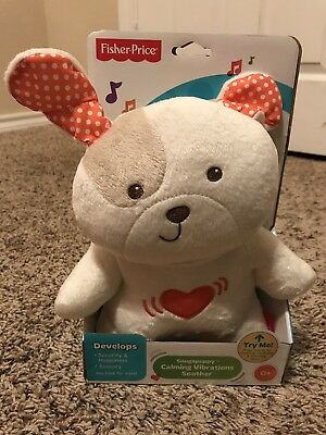 NEW IN BOX Fisher-Price Snugapuppy Calming Vibrations Soother