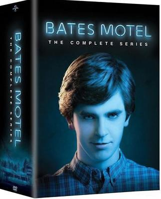 Bates Motel: The Complete Series (DVD, 2017, 15-Disc Set) New & Sealed
