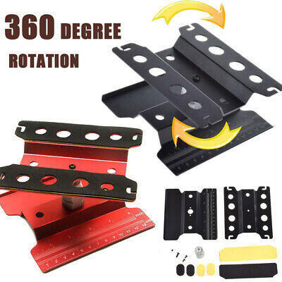 Alloy Model Repair Station Work Stand Rotate 360°For 1/8 1/10 RC Car Road Truck
