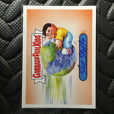 GARBAGE PAIL KIDS WE HATE THE 90's! 2019 JOE SIMKO AUTO CARD 24/25 autograph