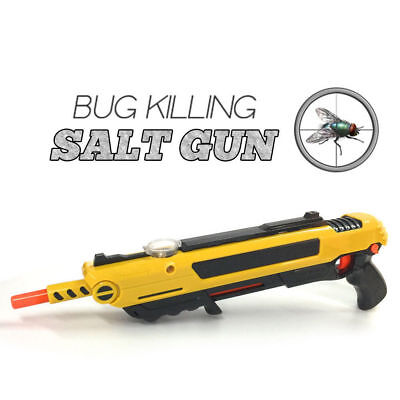 Salt Gun for flies bees stink bugs Insect mosquito Bug AU Stock