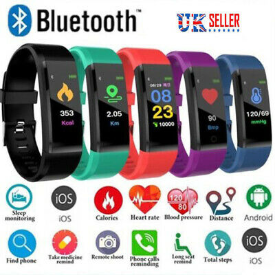 Activity Fitness Tracker Bluetooth,Best Step Counter Pedometer Running Fit Watch
