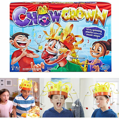 Party Game Hat Chow Crown Game Musical Food Challenge Family Fun Toys Gift