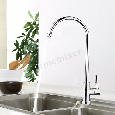 360° Reverse Osmosis RO Modern Style Chrome Non Air Gap Water Filter Faucet