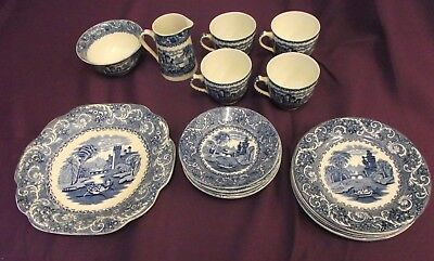 Wedgwood & Co Ltd 'rhime' 19 Piece Set ~ Collection Only