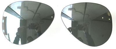 c6f3eeb583 Lenses Spare Part Ray Ban 3030 58 Outdoorsman Silver Mirror Replacement  Lenses