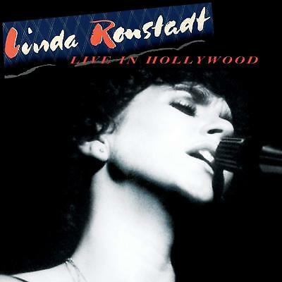 LINDA RONSTADT 'LIVE IN HOLLYWOOD' (Remastered) VINYL LP (2019)