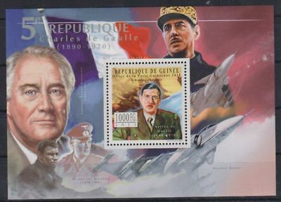 K203. Guinea - MNH - 2011 - Famous People - Military - Bl.