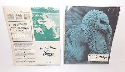 Phillips 66 Up-to-Date with Philgas Vintage Brochures 1940-1947