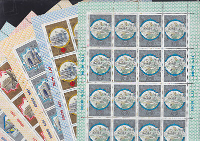 069570 CCCP Russia 4872-77 Sheet Set ** MNH Olympic Games Olympia - Year 1979