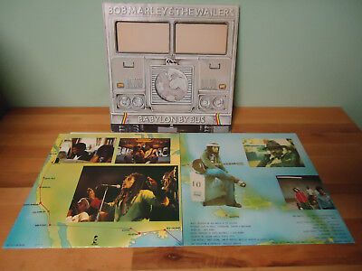 LP Bob Marley & The Wailers Babylon By Bus 1978 Gimmick 2 LP's + OIS