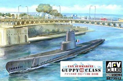 Afv Club 73512 - 1/350 USn Submarine Guppy 1B - Italian Navy Neu
