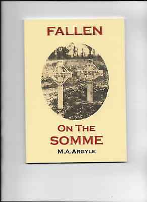 'FALLEN ON THE SOMME' .DIARY of an OFFICER..1914-18 WAR..