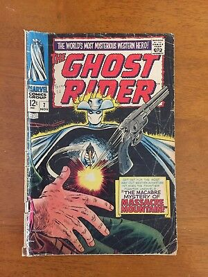 1967 Marvel Ghost Rider #7 Western