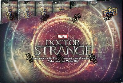Doctor Strange The Movie Factory Sealed Trading Card Hobby Master Box