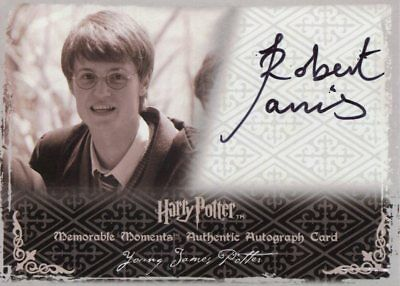 Harry Potter Memorable Moments 2 Autograph Robert Jarvis