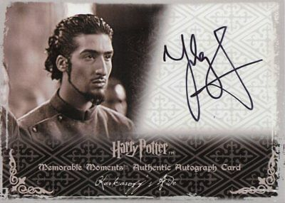 Harry Potter Memorable Moments 2 Autograph Tolga Safer