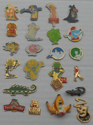 22 Pins Comic Lapel pins