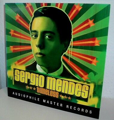 SERGIO MENDES - Timeless - Audiophile Master Records coulored 180 gr DoLP !!
