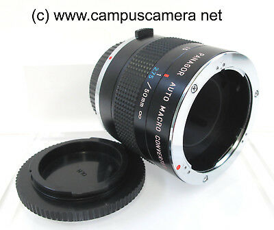 Olympus OM System Panagor Auto Macro Converter (1:1-1:10 with 50mm) Excellent