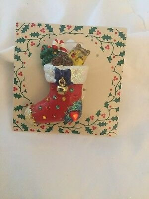 Christmas Stocking Pin