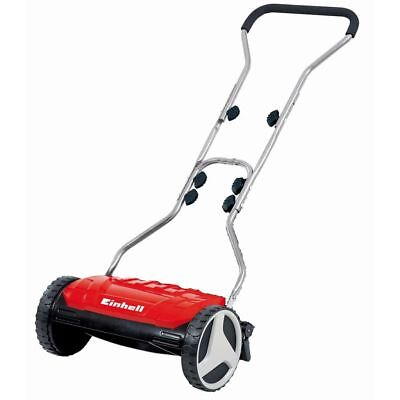 Einhell Cortacésped Manual GE-HM 38 S Césped de hasta 250 m² Color Rojo 3414165