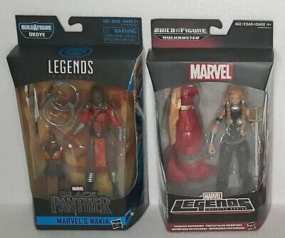 MARVEL LEGENDS Infinite Lot Of 4 Hulkbuster Valkyrie Medusa Nakia Mystique