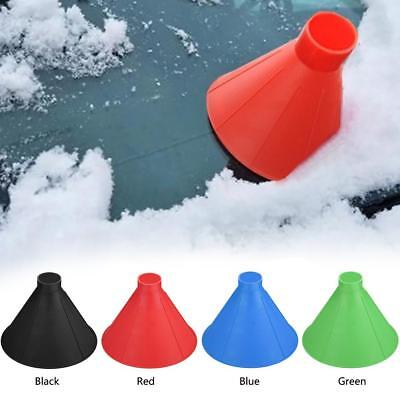 Plastic Cone Shaped Magic Car Windshield Snow Remover Shovel Window Ice Scraper