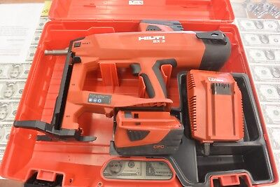Hilti BX3-ME 01 Battery Actuated Fastening Tool , w/  2 Batteries