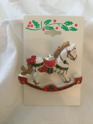 Rocking Horse Pin. Brand New.