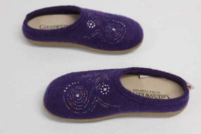 Giesswein Women's US 6/EU 37 Bella Slipper Purple 641045270