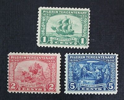 CKStamps: US Stamps Collection Scott#548 549 550 Mint NH OG