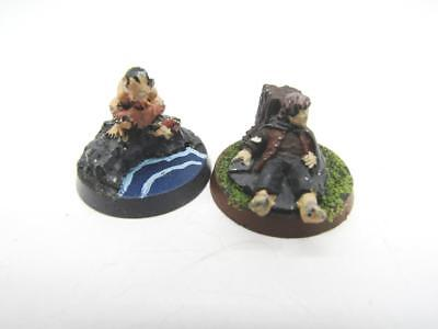 Lord Of The Rings Middle-Earth Fellowship Gollum Smeagol & Frodo Metal w388