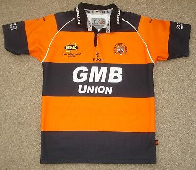 XS/S Castleford Tigers Rugby League Shirt Kukri