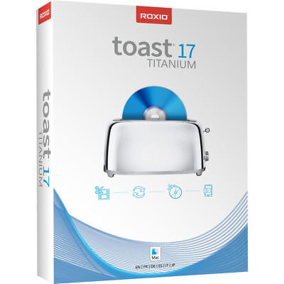 Roxio Toast 17.3 Titanium Mac OS FULL SOFTWARE DVD BluRay Burner INSTANT Deliver