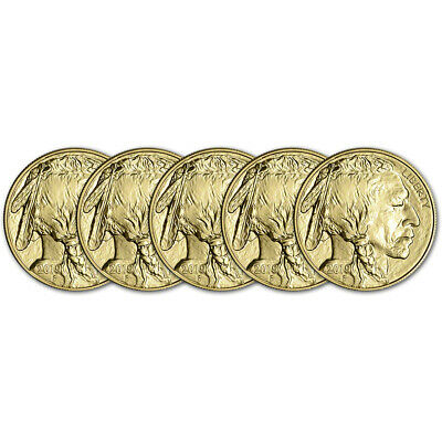 2019 American Gold Buffalo 1 oz $50 - BU - Five 5 Coins
