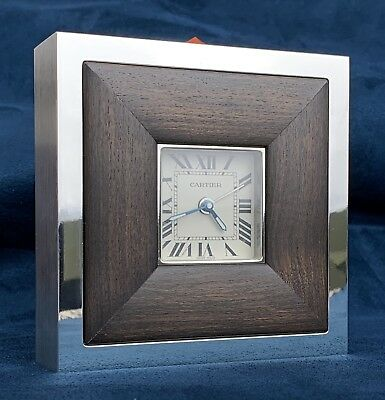 Cartier Travel Alarm Desk clock