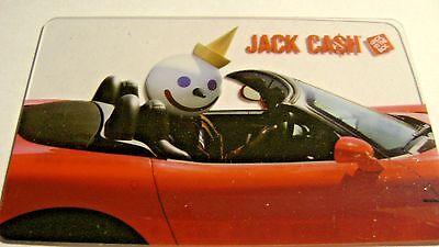 Jack In The Box Gift Card Red Corvette 99 Cent Auction Buy It Now Free Shipping