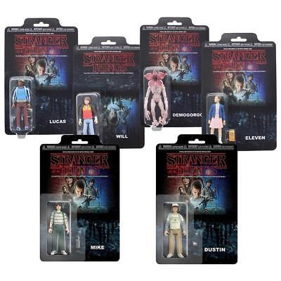 Stranger Things Collectible Action Figure Set Of 6 with Eleven, Mike, and More
