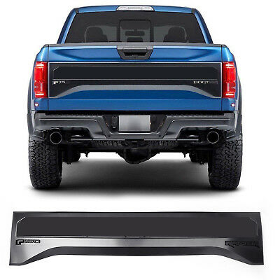 For 2015-2017 Ford F-150 Tailgate Applique Rear Panel Trim Raptor Style Modeling