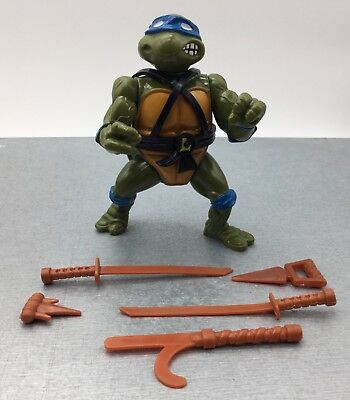 Figurine Tortues Ninja TMNT Vintage Action Figure - Leonardo - Playmates 88