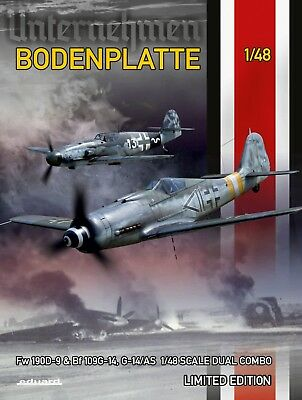 EDUARD 11125 Operation Bodenplatte (Fw190D-9 & Bf109G-14) Dual Combo in 1:48