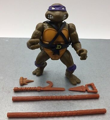 Figurine Tortues Ninja TMNT Vintage Action Figure - Donatello - Playmates 88