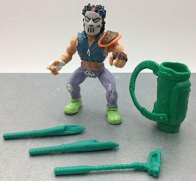 Figurine Tortues Ninja TMNT Vintage  Action Figure - Casey Jones -  Complet 1989