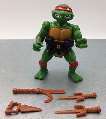 Figurine Tortues Ninja TMNT Vintage Action Figure - Raphael - Playmates 88