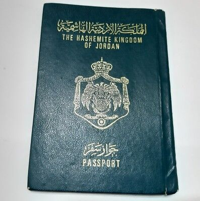 Jordan Collectible 1976 Passport Travel Document (invalid) Rare Vintage Old