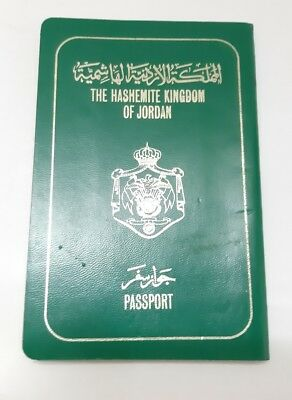 Jordan Collectible 1987 Passport Travel Document (invalid) Rare Vintage Old